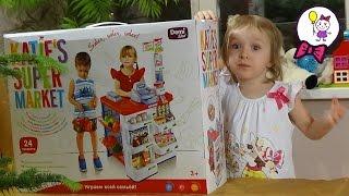 Собираем Игрушечный Супермаркет KATIE'S SUPERMARKET - играем всей семьёй. Обзор игрушки