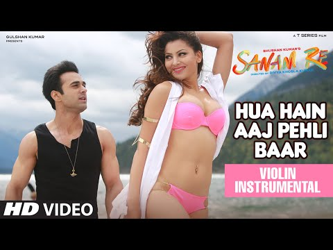 Hua Hain Aaj Pehli Baar Video Song   Sanam Re   (Violin) Instrumental By  Nandu Honap