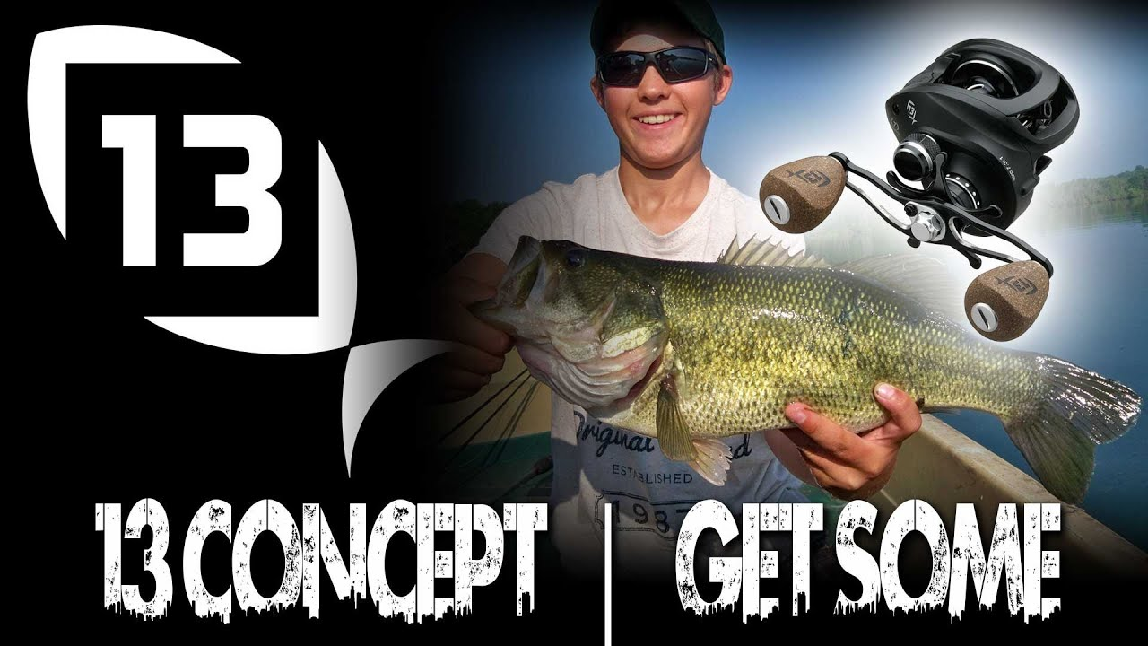 13 fishing concept reel baitcaster clearh2o tackle for Concept z 13 fishing