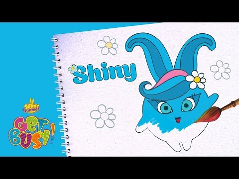 BRAND NEW - SUNNY BUNNIES | Drawing Shiny | Arts & Crafts | Cartoons for Kids