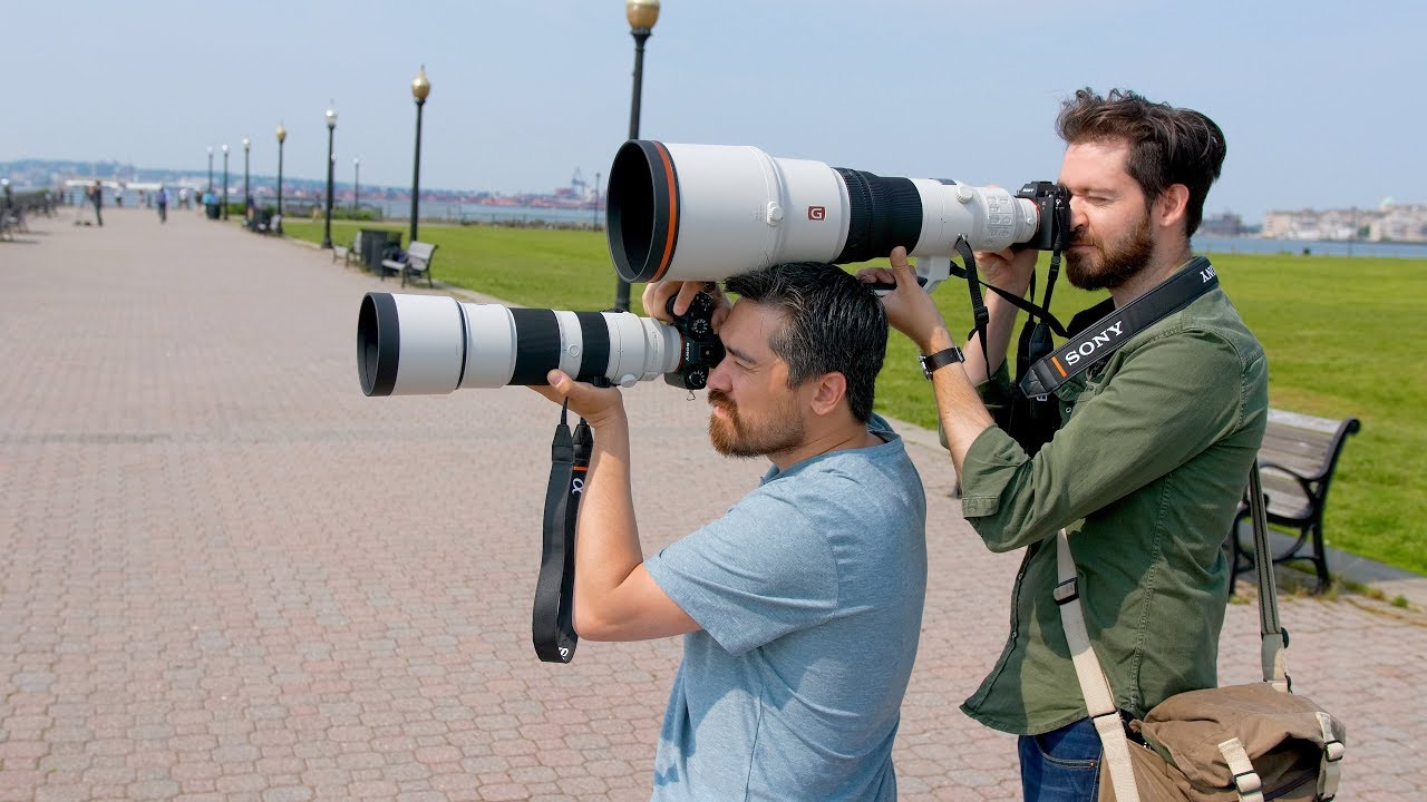 DPReview TV: Hands-on with Sony's new super-telephoto lenses (600mm F4 GM &  200-600mm F5 6-6 3)