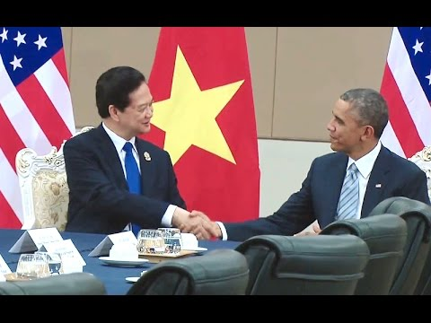President Obama Meets with the Prime Minister of Vietnam
