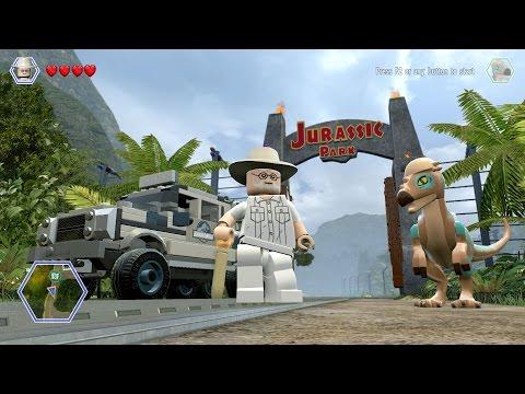 LEGO Jurassic World - Free Roam Gameplay (PC) [HD]