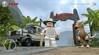 LEGO Jurassic World - Free Roam Gameplay (PC) [HD]