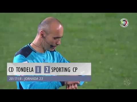 Resumo: Tondela 1-2 Sporting (Liga 23ªJ)