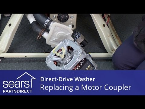 Washer drive motor coupler part 285753a how to rep doovi - Kenmore washer coupler replacement ...