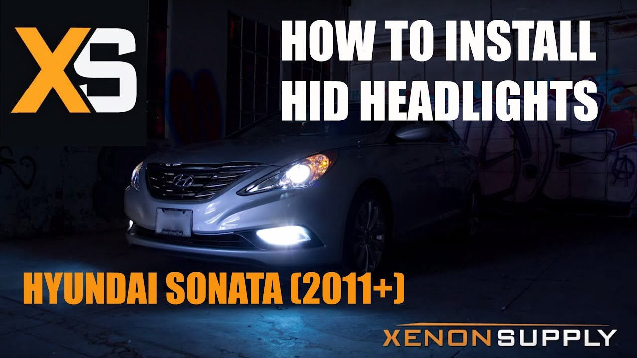 Hyundai Sonata Hid How To Install W Wiring Harness 2011 Updated Youtube