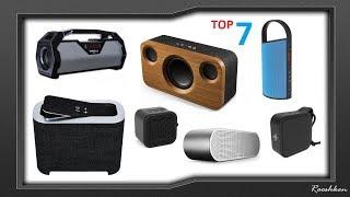 Podsumowanie roku 2018 - TOP 7 Głośników Bluetooth Rooshkena