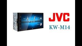 Обзор автомагнитолы JVC KW-M14