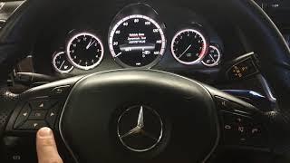 reset service indicator mercedes e350