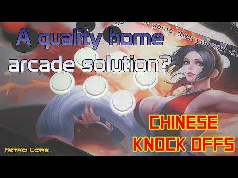 Chinese Knock Offs - The home arcade for those without the space?