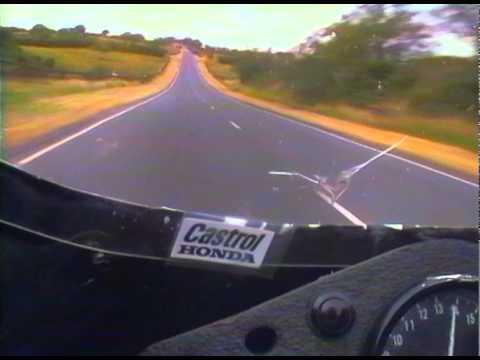 The legendary Joey Dunlop: '95 Ulster Grand Prix