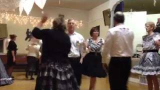"Oregon Square Dance ""Rambler, Showboat Gambler"""