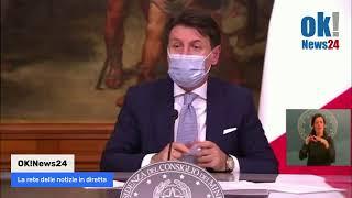 Dpcm 4 novembre 2020, conferenza stampa del Presidente Conte
