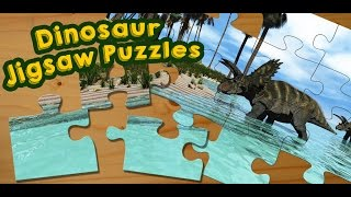 Dinosaur Jigsaw Puzzles Game for Kids - App Gameplay Video