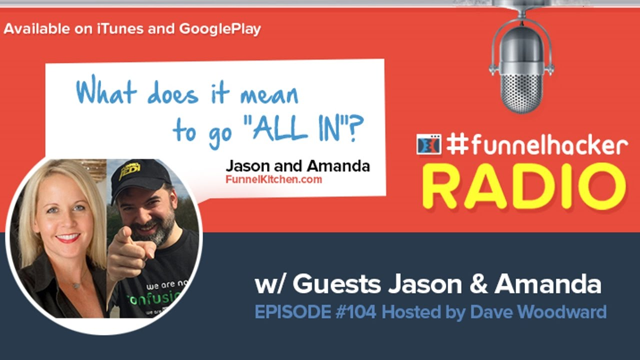 "Jason and Amanda, What does it mean to go ""ALL IN""?"