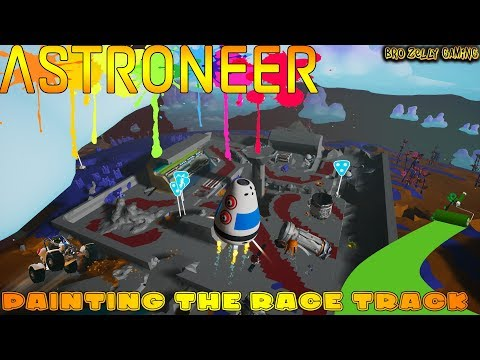 🔴 Astroneer Live - Finally Time To Paint The Race Track - DAILY GIVEAWAY