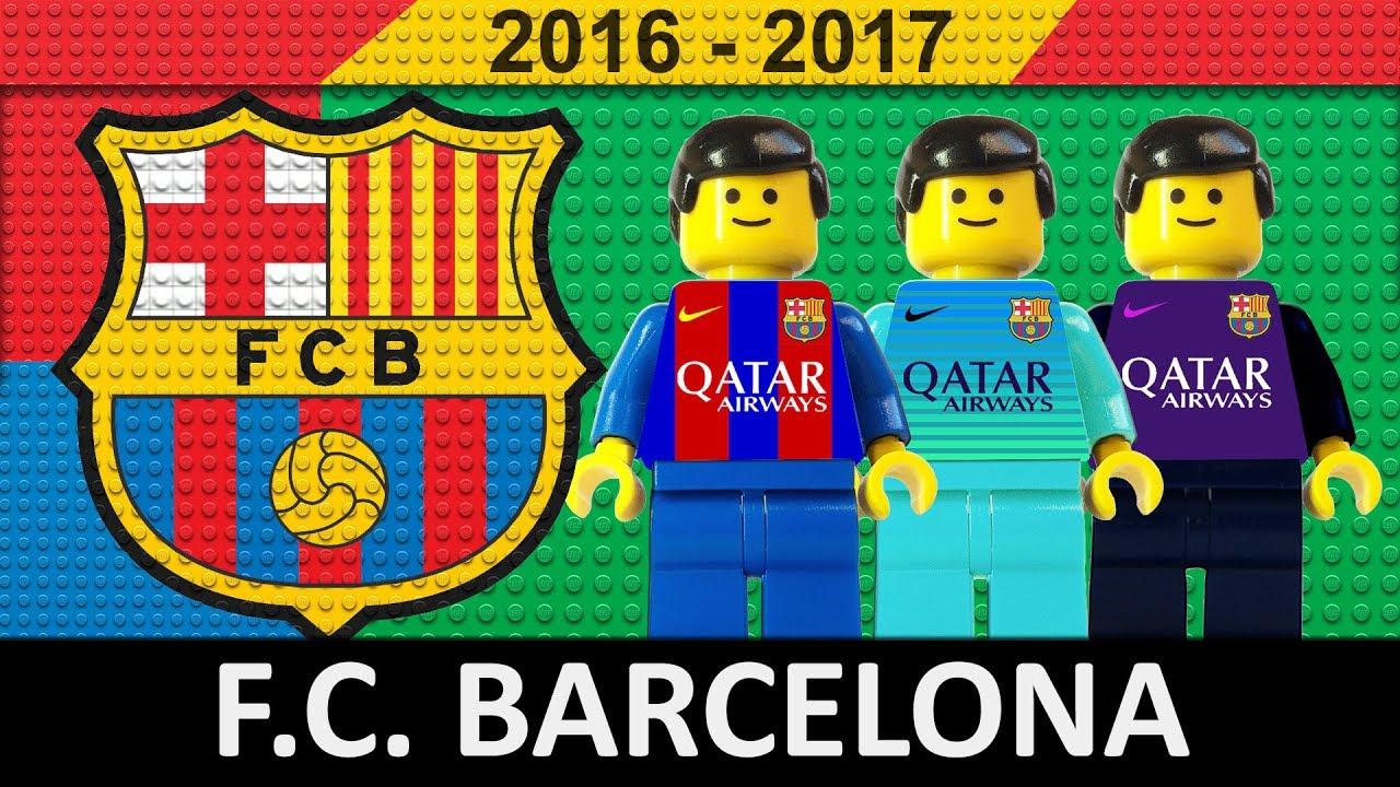 Download FC Barcelona 2016/17 • Lego Football Film 2017 • LaLiga • Champions League • Copa del Rey