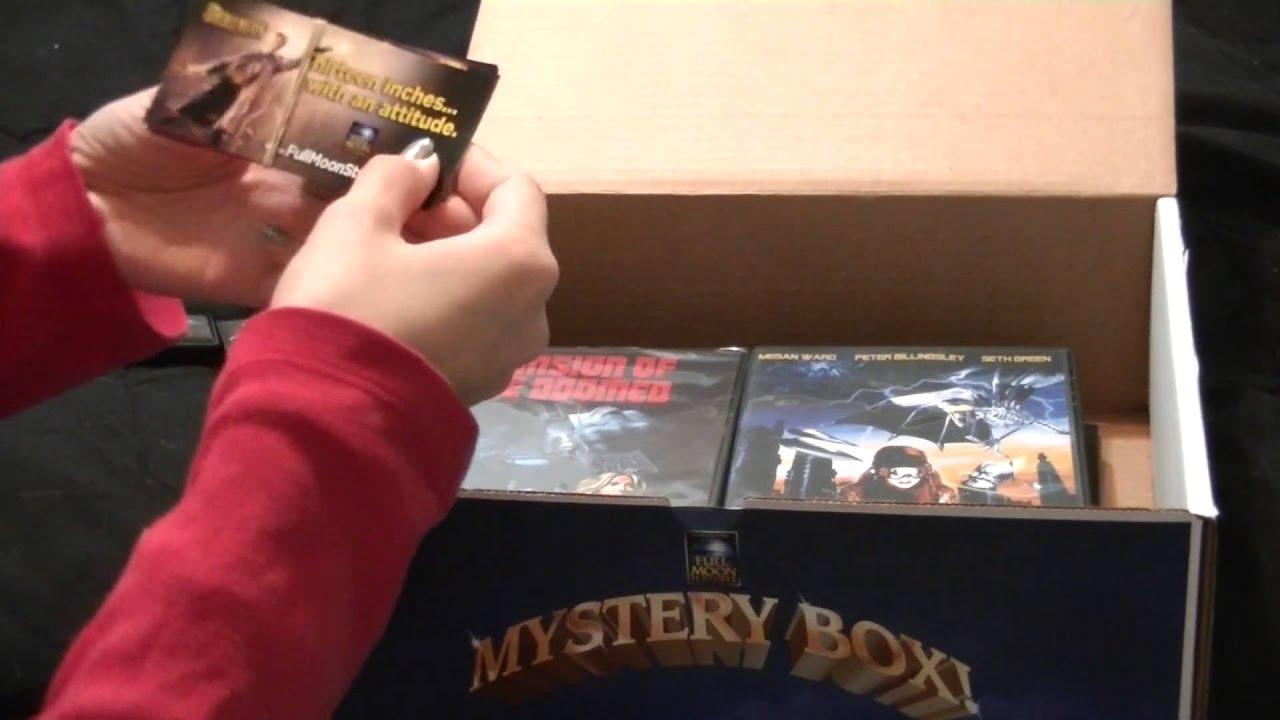 FullMoon Mystery Box December - YouTube