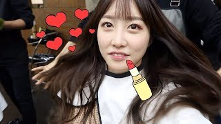 Twice Momo Makeup | Vlog #54 TWICE 動画 11
