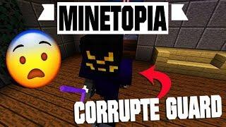 DEAL MET CORRUPTE GUARD IN MINETOPIA?! OPDRACHT VOOR EEN PICKAXE!