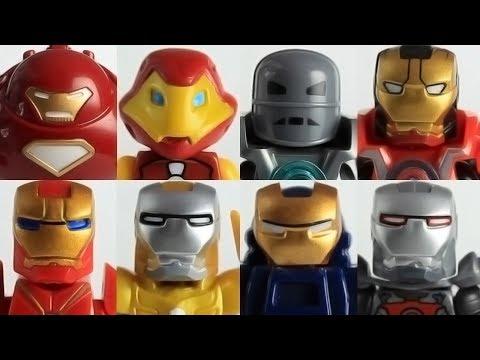 Part 2 Custom Lego Marvel Iron Man minifigure collection