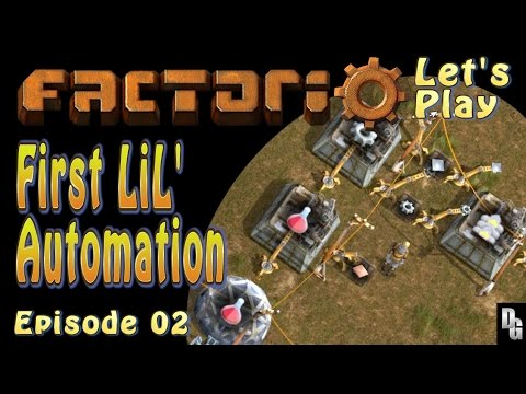 Factorio Let's Play ► Episode 2 ►Finding Temporary solutions to Permanent Dilemas