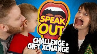 SPEAK OUT Mouthguard Challenge + Christmas Presents Opening with Gorgeous Movies #StockingSwapping