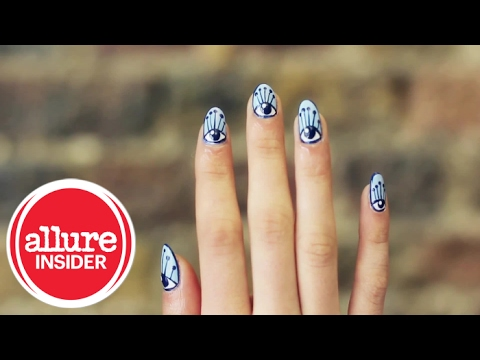 Paint the Perfect Eye Nail Design