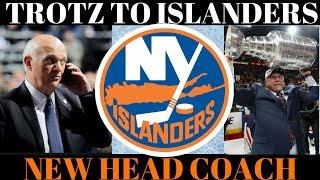 NY ISLANDERS HIRE BARRY TROTZ NEW HEAD COACH