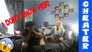 cheating prank on girlfriend gone wrong slapped in the face