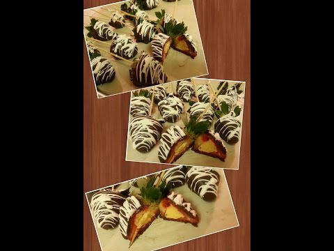 How to make Cheesecake Filled Strawberries..