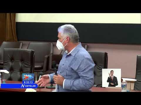 Felicita Presidente de Cuba labor de científicos creadores de candidato vacunal ABDALA