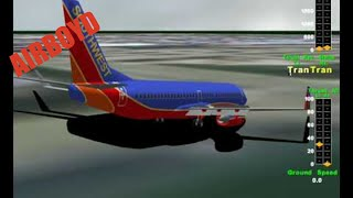 Southwest 1248 Runway Overrun Chicago Midway NTSB Animation