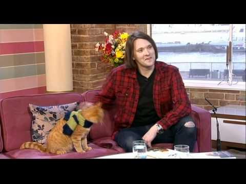 James Bowen Bob The Cat This Morning 2012
