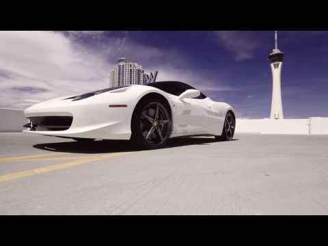 Ferrari 458 Italia Rental Las Vegas - Diplomat Exotic Rentals
