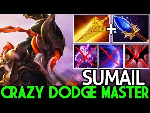 SUMAIL [Ember Spirit] Crazy Dodge Master Beautiful Plays 7.24 Dota 2