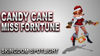 Candy Cane Miss Fortune Skin Spotlight | SKingdom - League of Legends