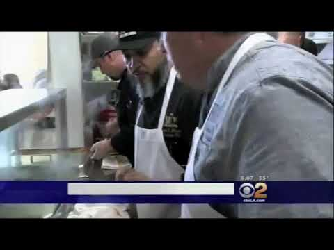 DINE LBC Restaurants Feed Homeless at the Long Beach Rescue Mission 1