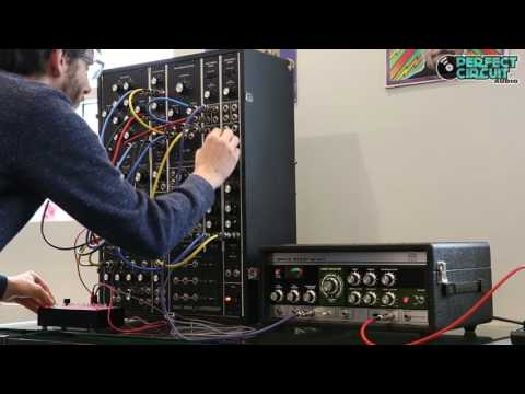 Moog Model 15 with Roland RE-201 Space Echo