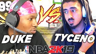 DUKE DENNIS vs TYCENO BEST OF 5