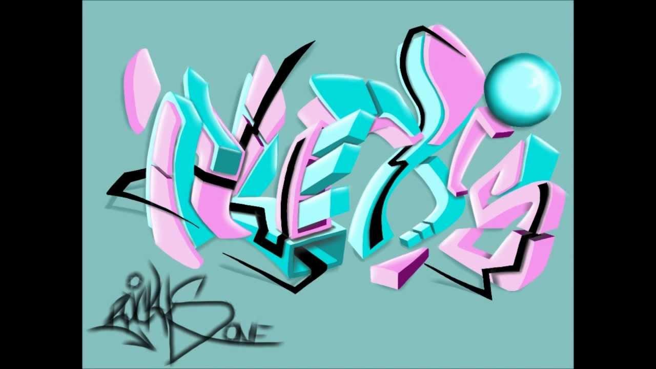 Graffiti Request #1: A...R In Bubble Letters
