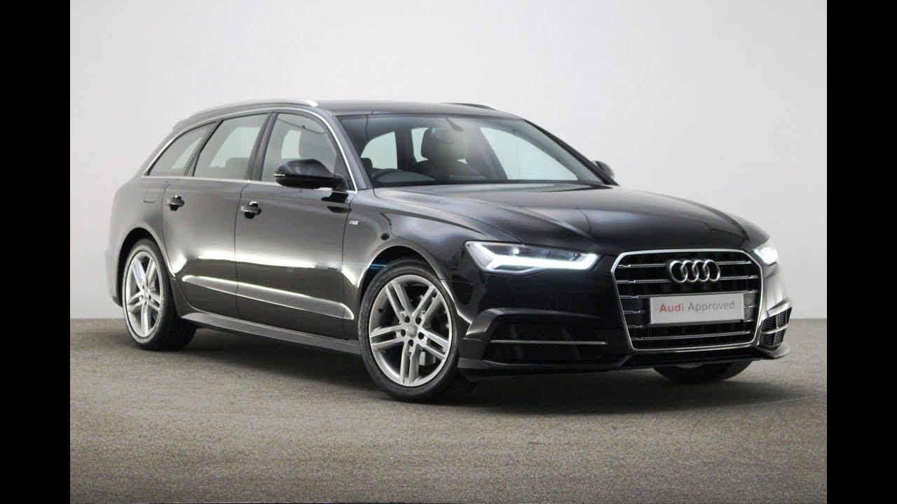 Km66wtc Audi A6 Avant Tdi Ultra S Line Black 2017 Reading Audi Youtube