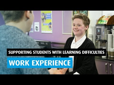 Work Experience: Supporting Students with Learning Difficulties