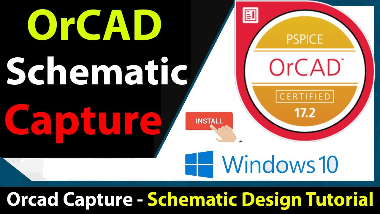 How To Install Orcad Cadence Orcad Installation Step By Step Download And Crack Cadence Orcad Youtube