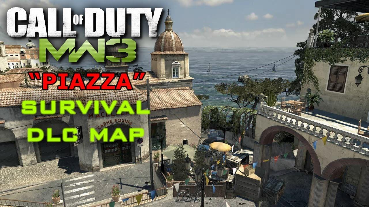 "Call of Duty Modern Warfare 3: ""Piazza"" Survival DLC Map"