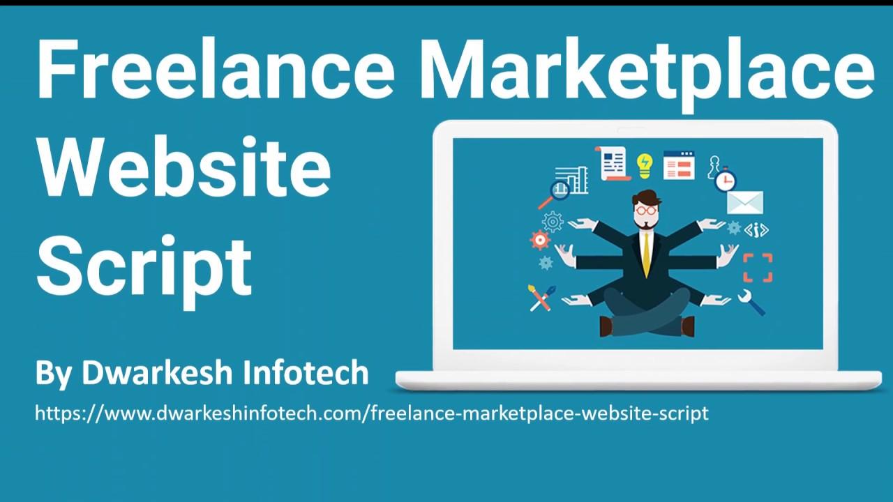 Freelancer Website Script - Create Marketplace like fiverr & upwork for Freelance business in 20