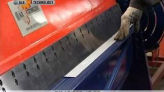 Электромеханические листогибы - АЛЕ(Электромеханический листогибочный станок для изготовления кромочных гибов, доборных элементов, коробов..., 2011-04-02T08:28:24.000Z)