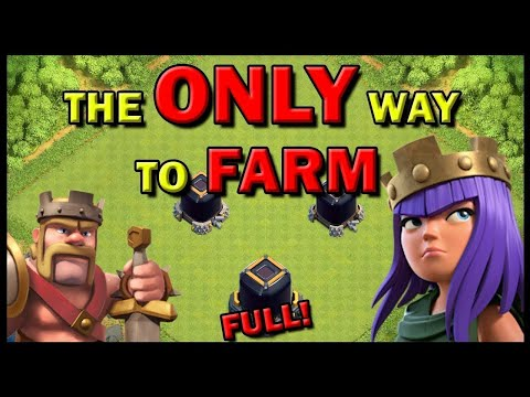 FASTEST METHOD TO FARM!! 2019 EDITION! | Clash Of Clans | LOOT DARK ELIXER MAX HEROS