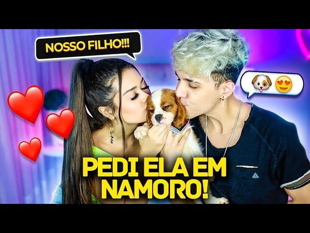 PEDI ELA EM NAMORO DURANTE O VÍDEO!! (Ft.Franciny Ehlke)